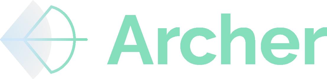 Archer Logo for dark background